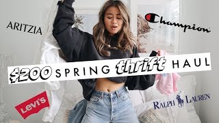 $200 THRIFT HAUL | thrift with me in LA