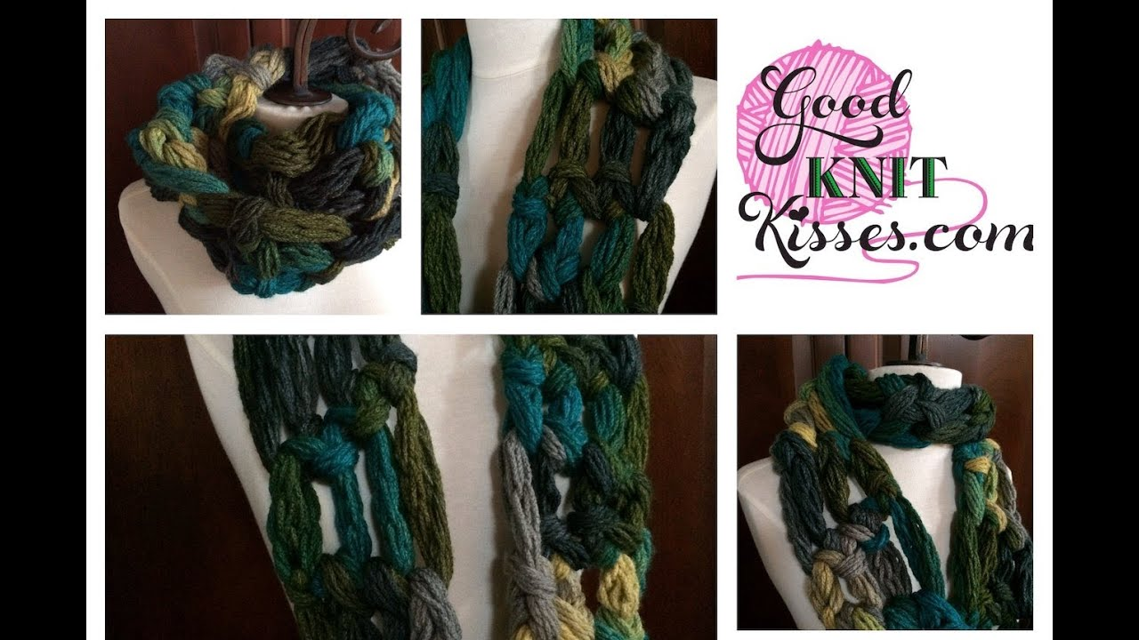 How to Arm Crochet Cowl - Red Heart Boutique Dash easy - YouTube
