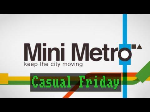 Casual Friday: Mini Metro [ Deutsch / German ]