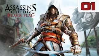 "Assassins Creed 4 Black Flag Walkthrough - Part 1 ""Opening"" Gameplay Playthrough Xbox360"