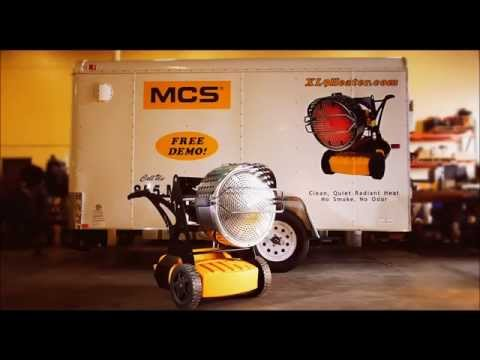 Video Clip Hay Diesel Driven 1 Million Btu Flameless