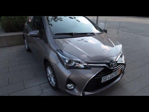 Toyota Yaris 2014 1.0-litre VVT-i: walk around and start up