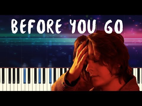Lewis Capaldi - Before You Go - Piano Tutorial thumbnail