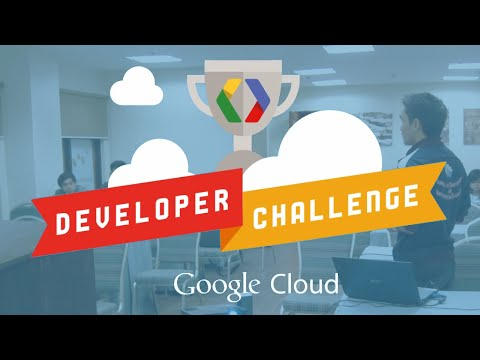 2013 Google Cloud Developer Challenge kick-off