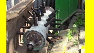 Repeat youtube video Перосъемная машина Процесс постройки