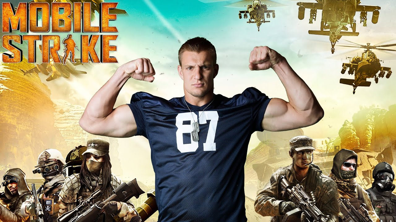 Mobile game commercial - At Home With The Gronkowskis Episode 1 Operation Mobile Strike Mobile Strategy Game Youtube