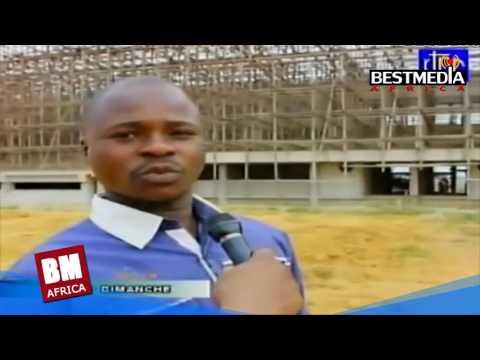 CONSTRUCTION DU STADE DE KINDU (MANIEMA) : ÉVOLUTION DES TRAVAUX
