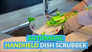Automatic Spinning Handheld Dish Scrubber