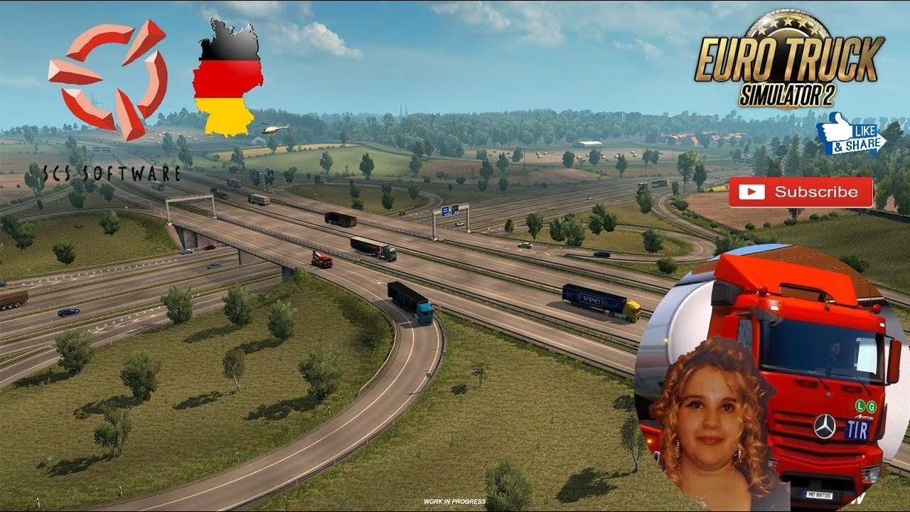 Euro Truck Simulator 2 SCS Software News Revisiting Germany ETS 2 Update  1 32