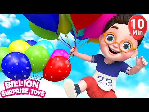 Learn Balloons Shapes