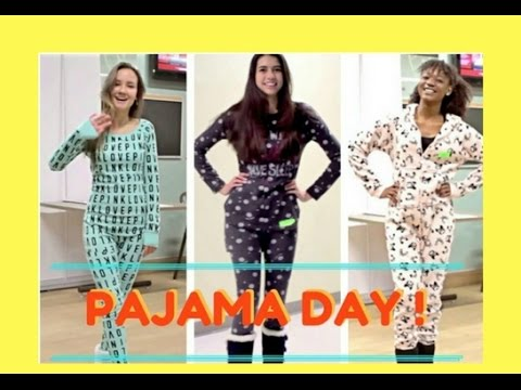 Pajama Day At School Zzz Youtube