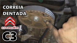 Troca da Correia Dentada - Citroen C3 :: Kit correia e rolamento