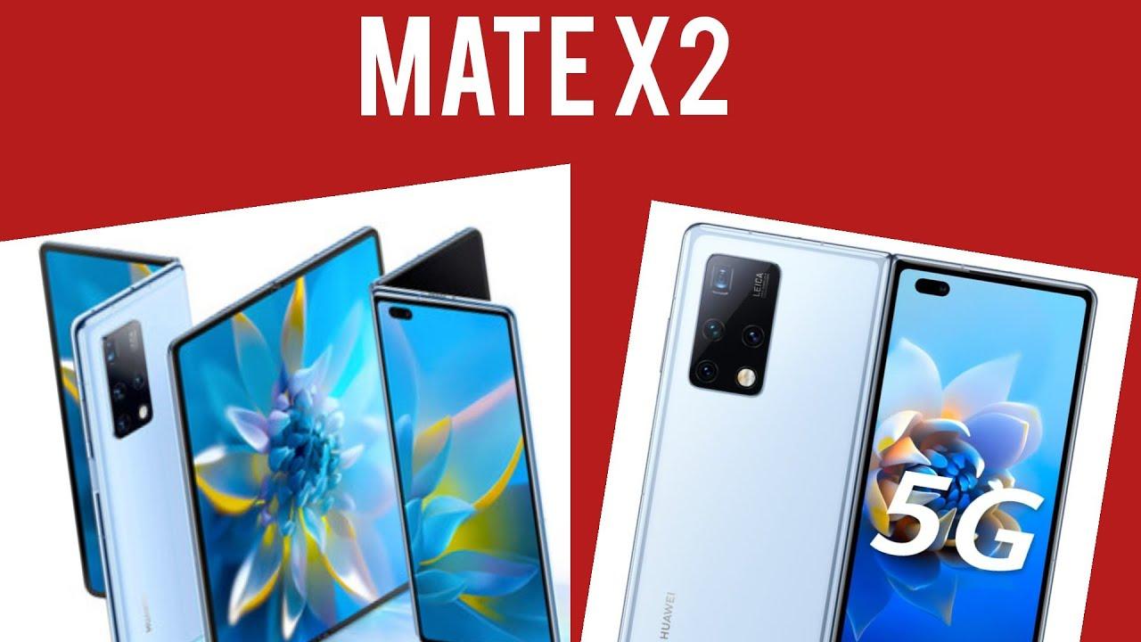 Huawei mate X2 | el nuevo teléfono plegable |