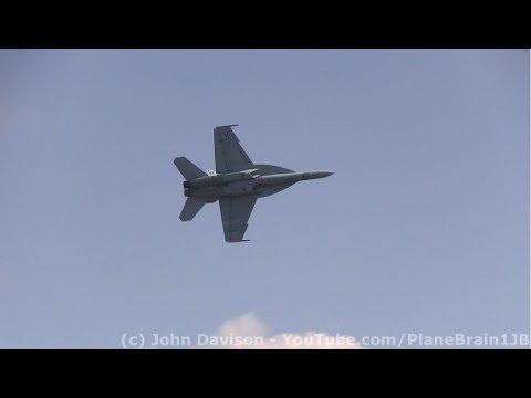 2017 Northeastern PA Airshow - U.S. Navy F-18F Super Hornet Demo