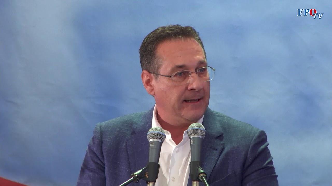 """HC Strache: """"Wir wollen nicht zur Minderheit in der eigenen Heimat werden!"""""""