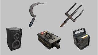 Rust - Генератор тумана, колонка, стробоскоп, вилы, серп!