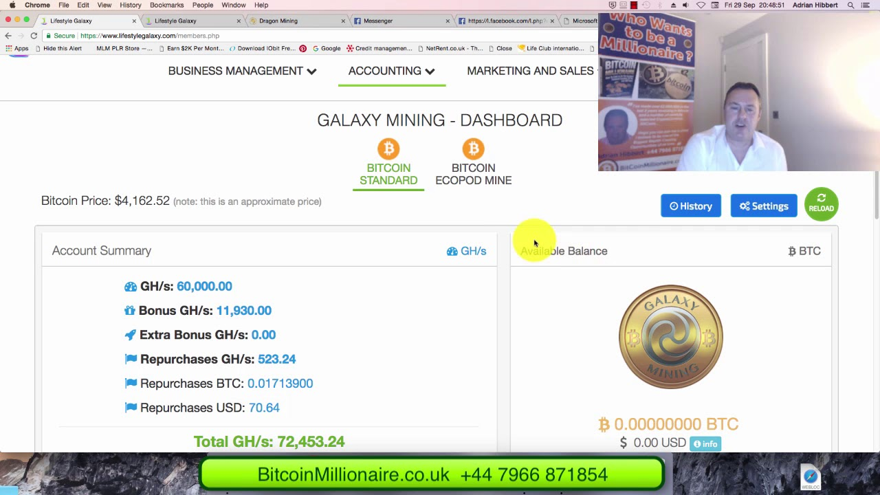 Bitcoin Mining Packages At Just 25 With Lifetime Auto Daily Compound
