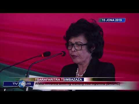 VAOVAO DU 15 JUIN 2019 BY TV PLUS MADAGASCAR
