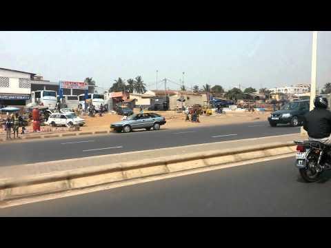 Un tour au Togo dans la capital (lomé)...