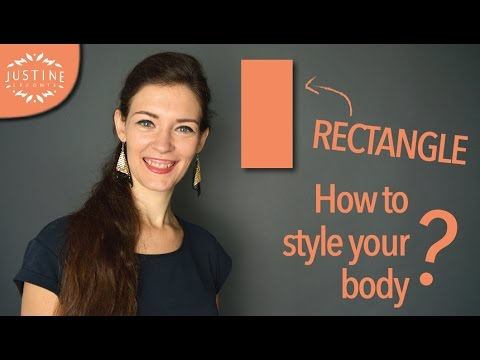 How to style a rectangle shaped body (model body) | Justine Leconte. Http://Bit.Ly/2KBtGmj