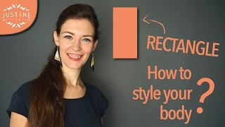 How to style a rectangle shaped body (model body) | Justine Leconte
