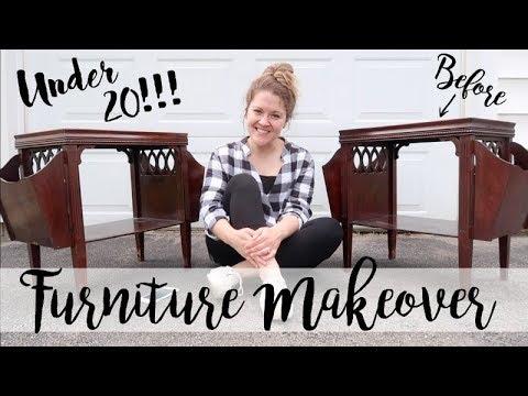 THRIFTED FURNITURE | MAKEOVER | UNDER $20