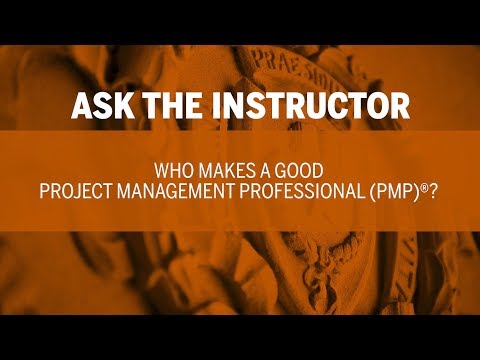 Ask The Instructor Who Makes Good Project Management Professional