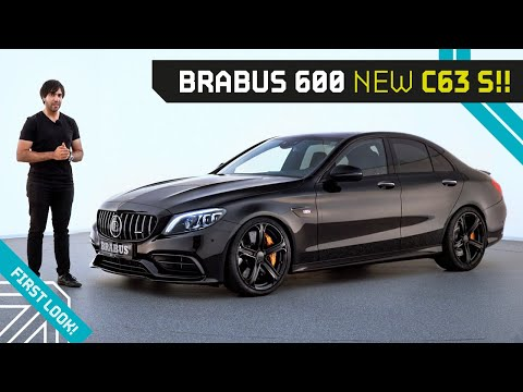 New Brabus 600!! The C63S Facelift Upgrade!! First Look