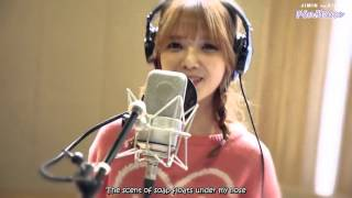 [ENGSUB] Jimin (AOA) ft. Xiumin (EXO) - Call You Bae (야 하고 싶어) Recording