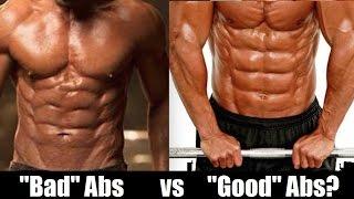 GOOD vs BAD Abs: Genetics or Crappy Training?