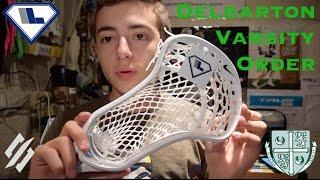 Custom Stringing #15 | Varsity Lacrosse Order #1
