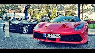 BEATIFUL DAY OF MONACO VILLE (supercars - luxury lifestyle - casinò)