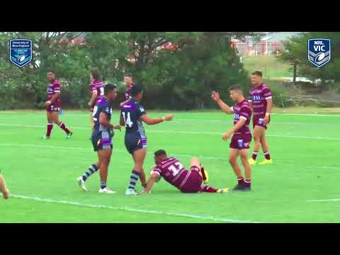 2019 SG Ball Round 1 Highlights - Victoria Thunderbolts vs Manly Warringah Sea Eagles