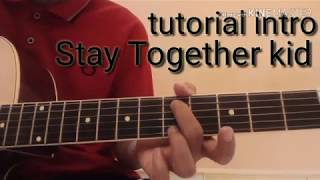 #blink 182#tutorial stay together kids# TUTORIAL INTRO STAY TOGETHER KID (BLINK182)