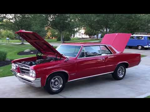 1964 GTO - 3 deuces and a 4 speed and a 389!