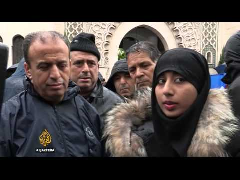French Muslims speak out against ISIL attacks