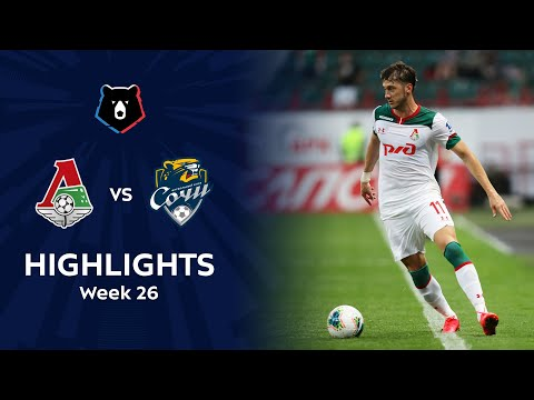 Lokomotiv Moscow Sochi Goals And Highlights