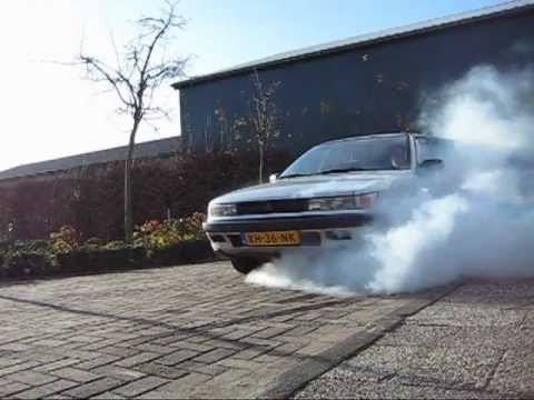 How To Do A Burnout In A Front Wheel Drive Car. Step By Step.