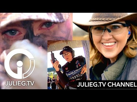 JulieG.TV Channel  Shooting, hunting, cooking, adventure and more!