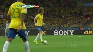COPA 2014 - Brasil x Alemanha 1º tempo completo HD