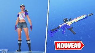 NEW SKIN 'TERROR OF PLAGES' - CAMO 'FLUO STARS'! FORTNITE BATTLE ROYALE
