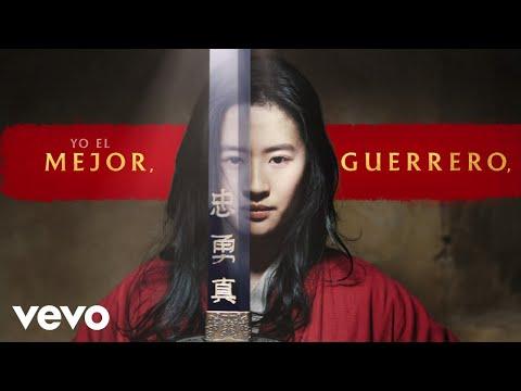 """Christina Aguilera - El Mejor Guerrero (De """"Mulán""""/Spanish Version/Official Lyric Video)"""