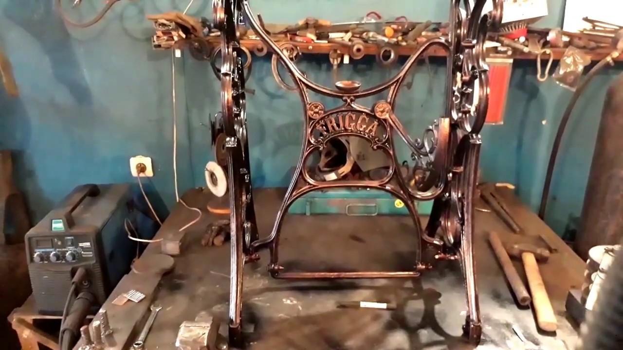 SINGER. Пережившие время. Швейная машинка SINGER. 1897 год. - YouTube