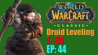 Let's Play: Classic World of Warcraft   Druid Leveling 1 to 60   EP. 44   Cat Form