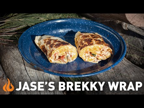 Cooking an epic Brekky Wrap the Australian way!