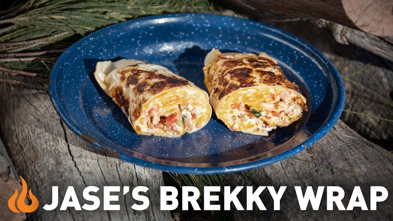 Cooking An Epic Brekky Wrap The Australian Way Youtube