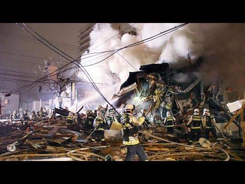 انفجار يتسبب بهدم مبنى في اليابان والشرطة ترجح أن يكون جراء تسرب غازي…  - نشر قبل 27 دقيقة