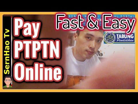 如何网上还ptptn贷款-马来西亚-2个方法  How to pay PTPTN online-Malaysia -2 Options
