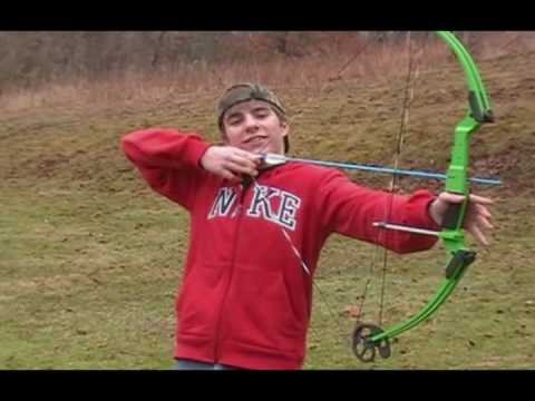 How to shoot a bow and arrow: beginners archery: tips, tricks, and technique - YouTube
