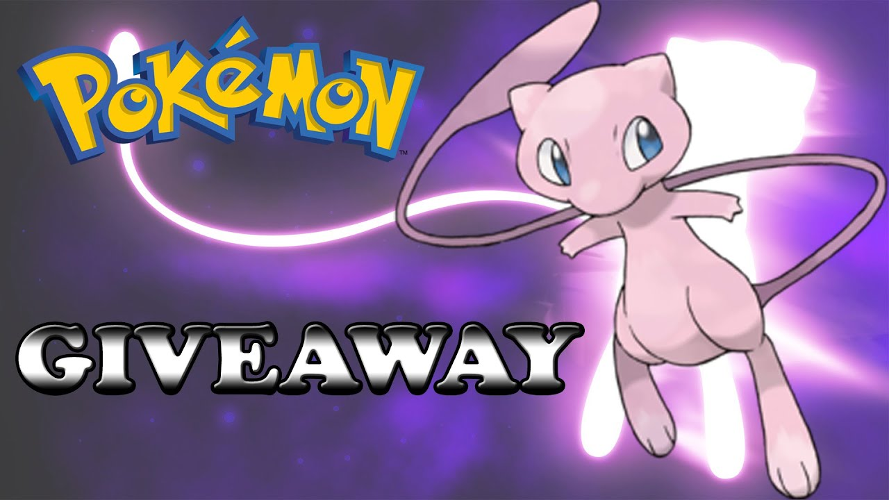 free pokemon giveaway x and y
